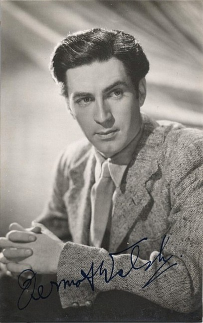 Welsh, Dermot autographed postcard SOLD